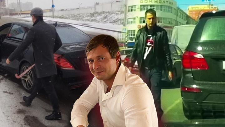 Бизнесмен, напавший с клюшкой на COVID-мобиль в Екатеринбурге, избежал уголовной статьи