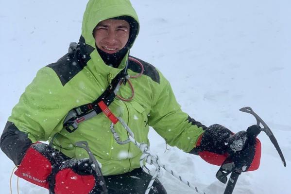 Блогерпокорил вершину высотой 5642 метра