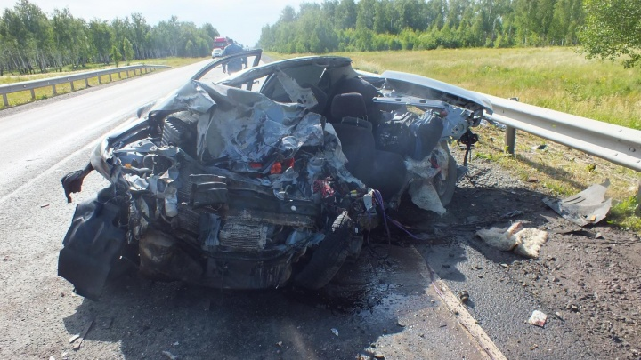 В Зауралье в выходные случились две смертельные аварии