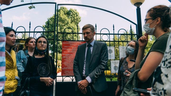 «Не надо нам тут ничего благоустраивать!»: омичи выступили против разделения дендросада