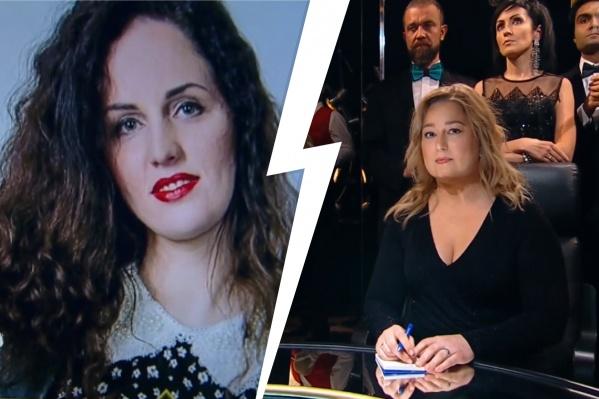 Вопрос Оксаны Хвиюзовой (слева) поставил в тупик знатока Дарью Соловей