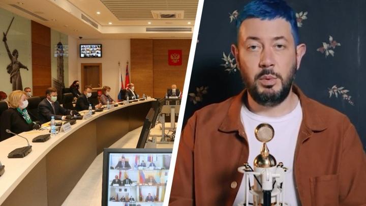 «Если такие люди возникают в жизни, нужно дать отпор»: депутаты осудили Лебедева, назвавшего «Родину-мать» «хренью»