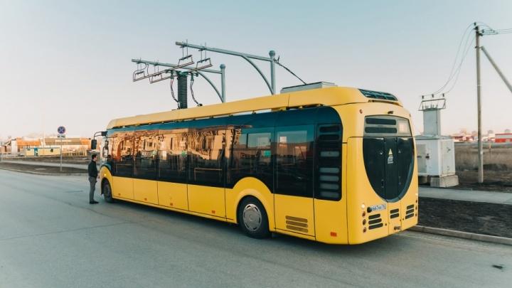 В Самаре опять начнет курсировать электробус