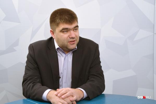 Александр Филиппов, депутат гордумы шестого созыва
