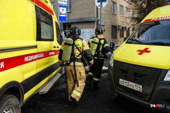 Пациентов эвакуировали
