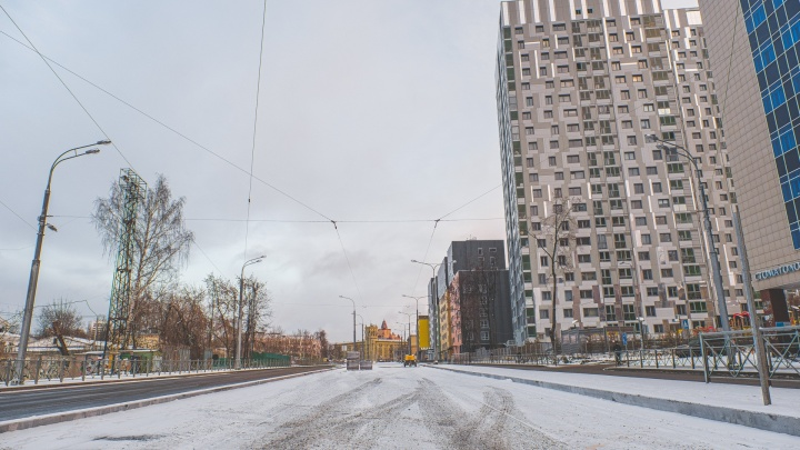 На улицу Революции в Перми перенаправят два трамвайных маршрута
