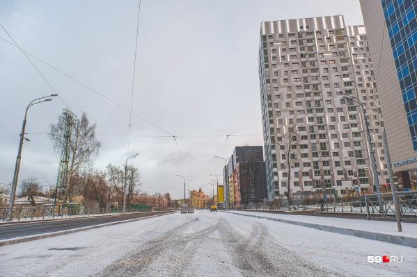 На реконструированный участок улицы Революции перенаправят два трамвайных маршрута
