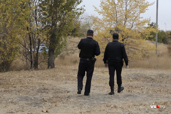 Полицейские не пускают никого в лесопосадку в районе скандально известного автоцентра