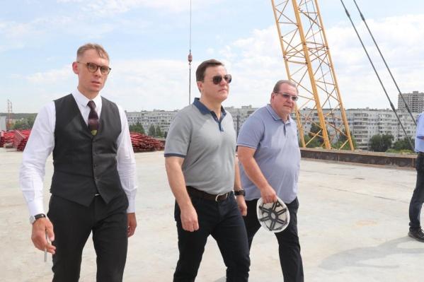 «Предстоит довести до конца ситуацию с экспертизой объекта, потому что в проект вносились корректировки»: губернатор Самарской области Дмитрий Азаров