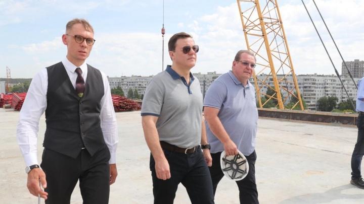 «Распишем работы по дням»: губернатор Азаров сообщил, когда достроят развязку на М-5