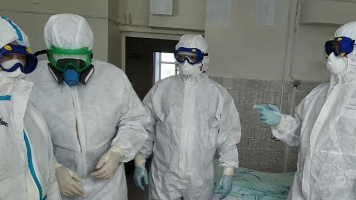 Хроника коронавируса в Башкирии: медики демской больницы провели обход пациентов с COVID-19