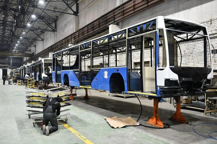 Троллейбусы на автономном ходу собирают, например, в Вологде
