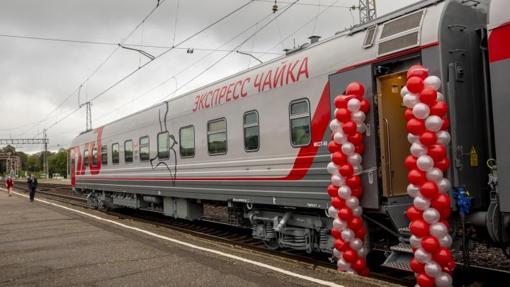 Пригородные поезда в Ярославской области оснастили новыми современными вагонами