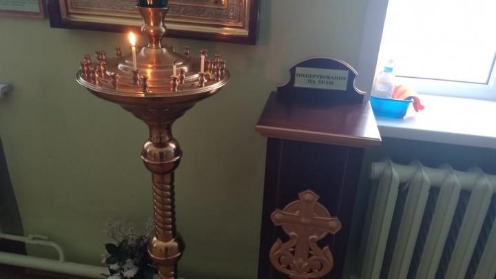 В Новоуральске Росгвардия поймала подростков, укравших из храма ящик с пожертвованиями