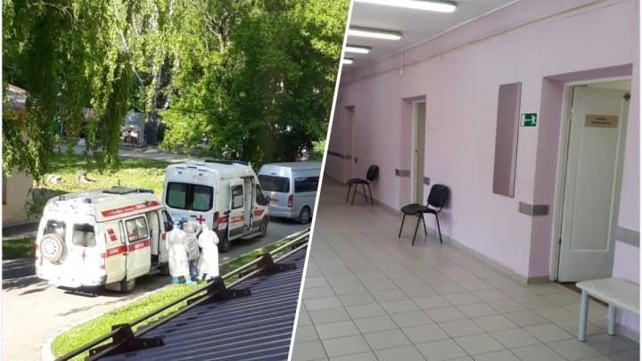 Почему пациенты спят на голых матрасах: рассказываем, как устроен ковидный КТ-центр в Екатеринбурге