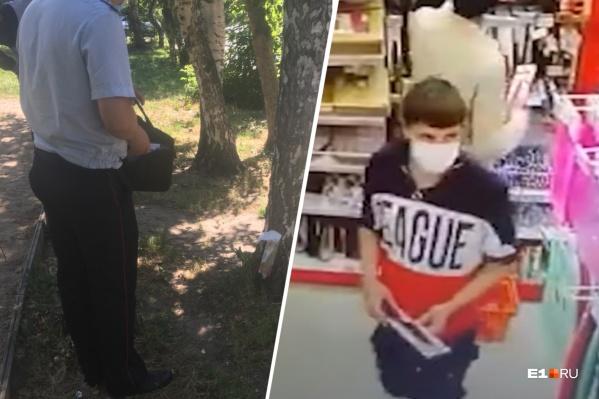 Жильцам угрожали ножами, украденными из магазина