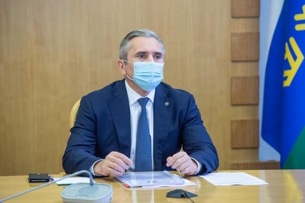 Губернатор Александр Моор