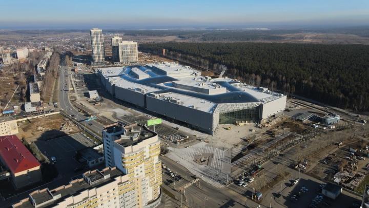 Открытие гигантского торгового центра в Екатеринбурге перенесли на месяц