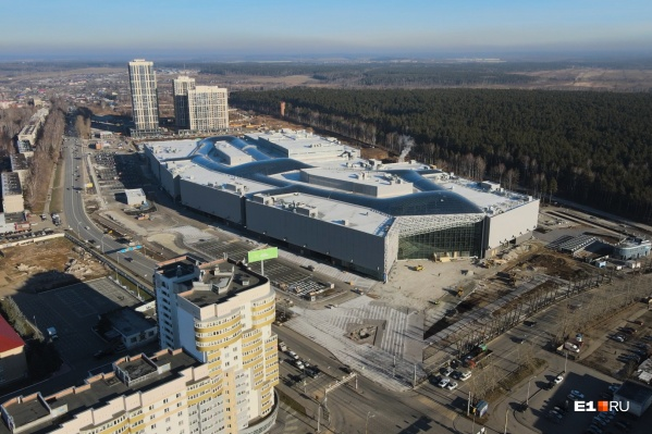 Veer Mall будет первым крупным торговым центром на Эльмаше