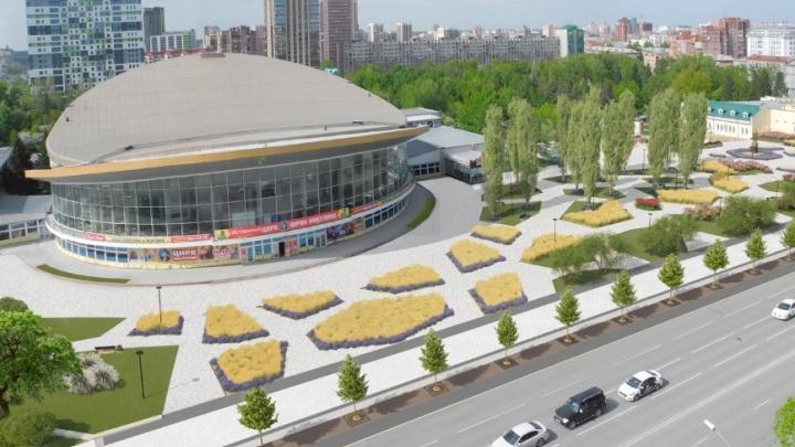 В Новосибирске придумали новые виды для Нарымского сквера и площади у цирка — рассматриваем проект
