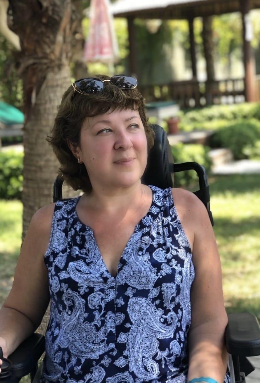 Спинальная мышечная атрофия не помешала Марине получить хорошее образование