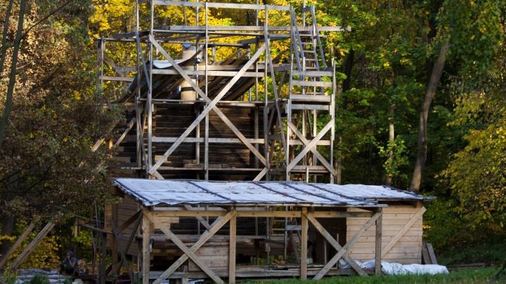 Мельницу и Покровскую церковь в «Щёлоковском хуторе» обещают отреставрировать к декабрю