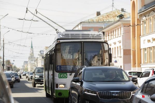В Ярославле объединяют управление автобусной и троллейбусной компании