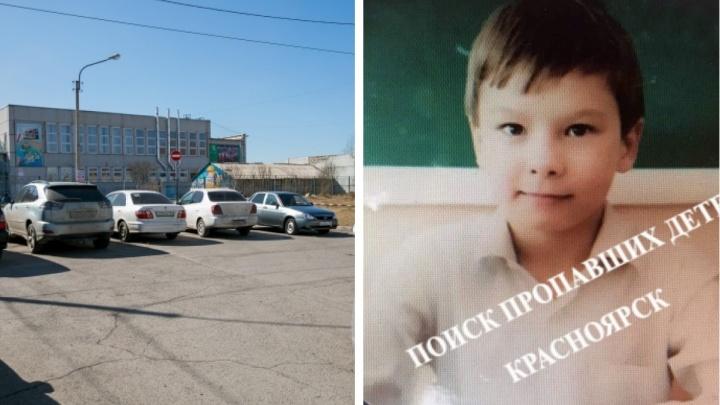 На правобережье в Красноярске второй день разыскивают 12-летнего мальчика