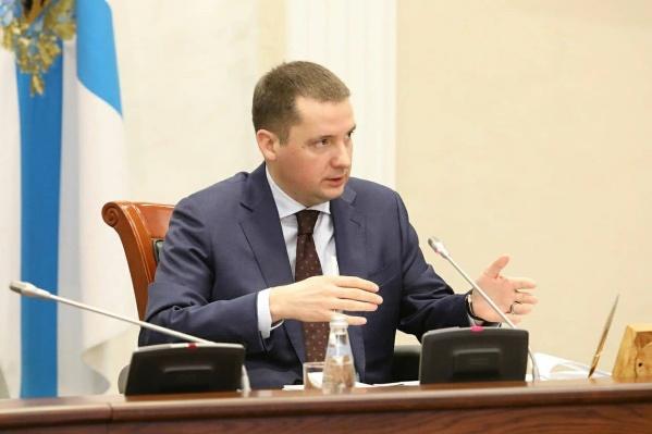 Александр Цыбульский назначен врио губернатора Архангельской области 2 апреля