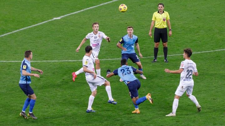 «Почему во втором тайме выходит другая команда?»: волгоградский «Ротор» проиграл ЦСКА