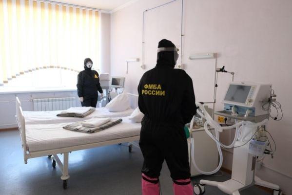 В Красноярске на ИВЛ находятся 78 человек