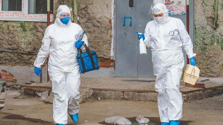 За сутки в Прикамье выявили еще 257 новых случаев заражения COVID-19