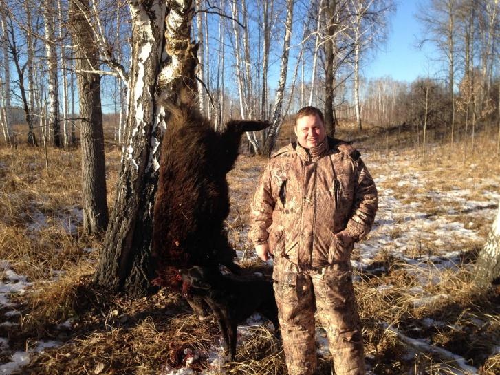 Алексей не был новичком на охоте