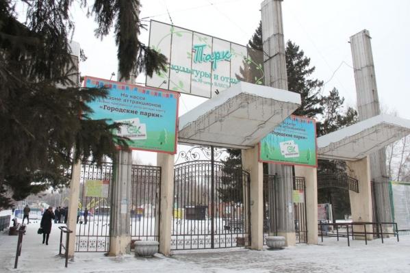 Елка в парке 30-летия ВЛКСМ станет главной в Октябрьском округе