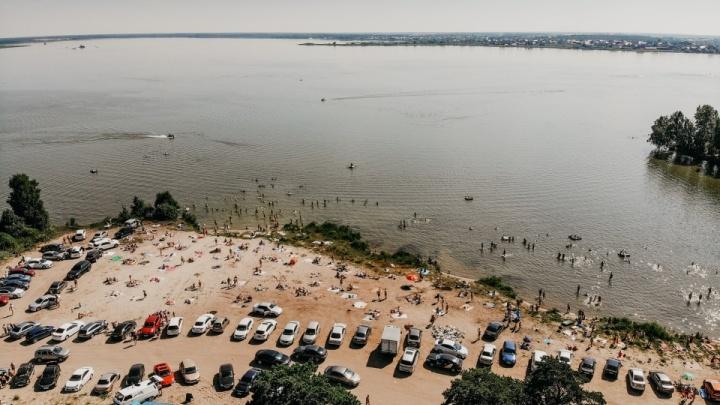 На озере Андреевском утонул молодой мужчина