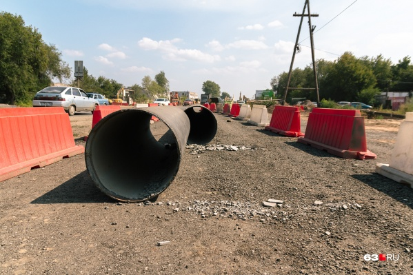 Дорогу планировали перекрыть для ремонта труб
