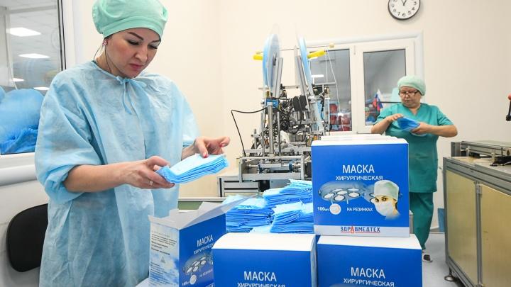 В Челябинске закончились медицинские маски по 15 рублей