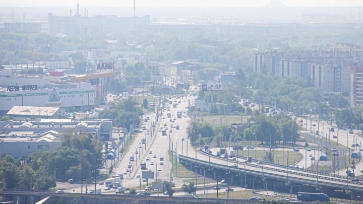 Челябинск — в дым: смотрим со 100-метровой высоты, как город заволокло густым смогом