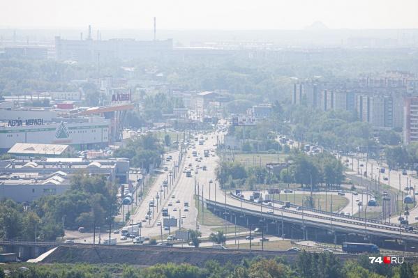 Во вторник Челябинск стал мутным