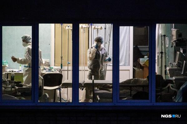 По информации СОМЦ ФМБА, их инфекционный госпиталь заполнен на 112%