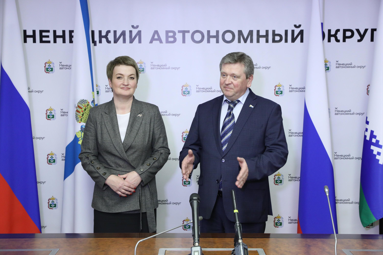 Екатерина Прокопьева поддерживает идею экономического слияния НАО и области