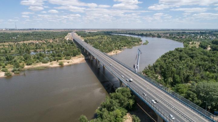Как открывали мост через Ахтубу: смотрим самые яркие моменты