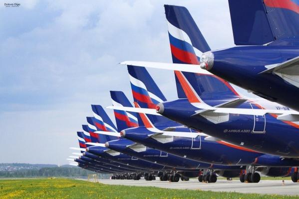 Самолеты ждут окончания пандемии, чтобы снова можно было летать