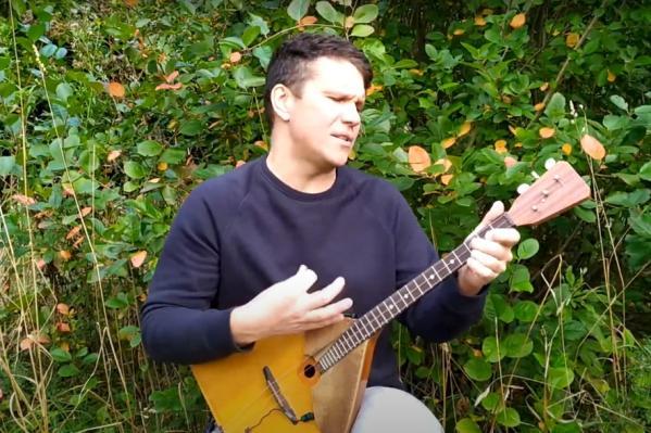 Андрей Киряков довольно часто делает каверы на популярные песни