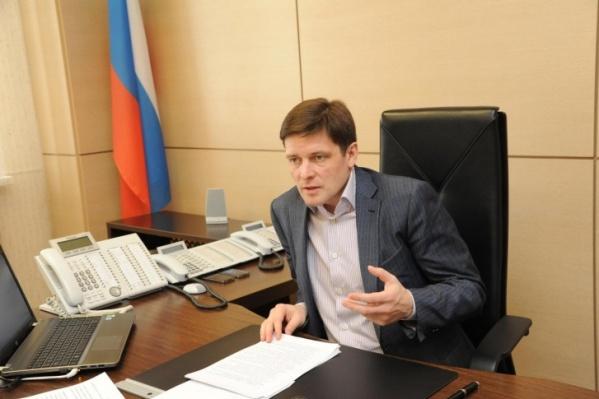 Алексей Гришин руководил Минстроем области с 2012 года