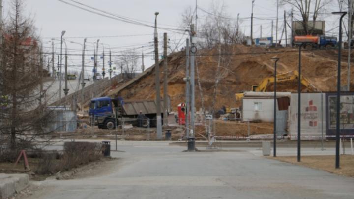 На улице Петропавловской рядом с эспланадой восстановили трамвайное движение