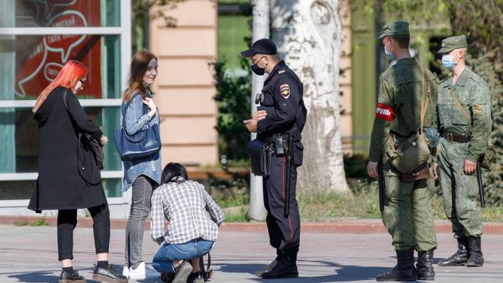 В Волгоградской области устроили облаву на нарушителей масочного режима: 500 протоколов за выходные