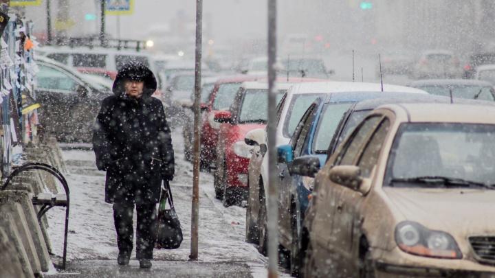 На Челябинск надвигаются снегопады