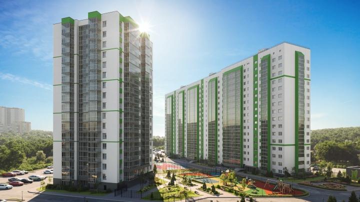 Всего 10 700 рублей в месяц, чтобы переехать в жилой комплекс в шести минутах от «Площади Маркса»