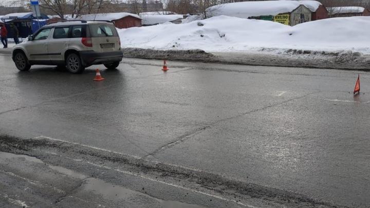 Новосибирец сбил 9-летнюю девочку на Курчатова — ребёнок переходил дорогу возле пешеходного перехода